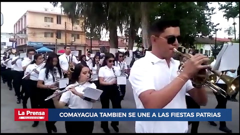 Departamento de Comayagua tambien se une a las Fiestas Patrias