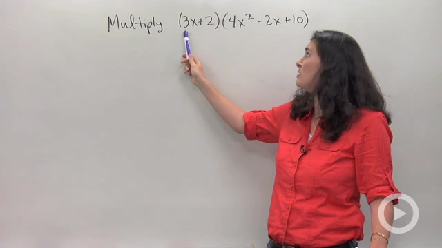 Multiplying Larger Degree Polynomials using Distributing - Problem 2