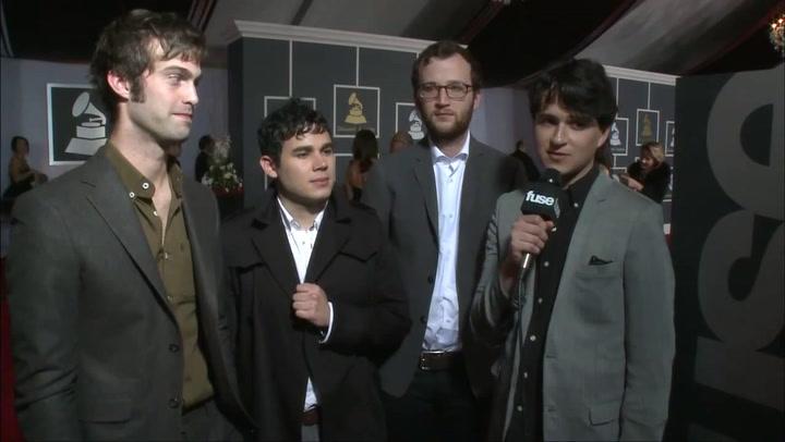 Interviews: Grammys: Vampire Weekend