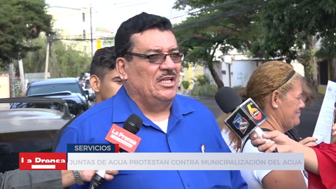 Juntas De Agua Protestan Contra Municipalización De Agua