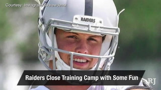 Vegas Nation: Raiders have some fun on the final day of camp