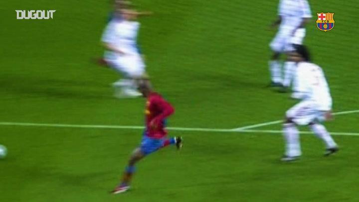 Barça's best strikes against Bayern Munich