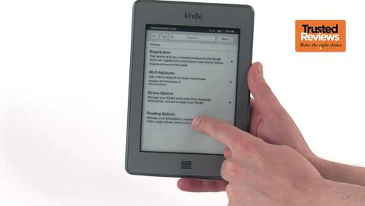 Amazon Kindle Touch Review | Trusted Reviews