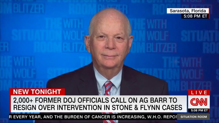 Cardin: Barr 'Needs to Resign'