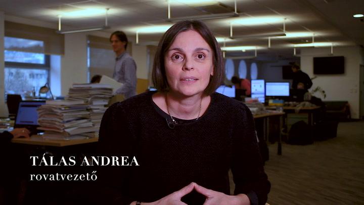 A HVG adventi kalendáriumában ma: Tálas Andrea