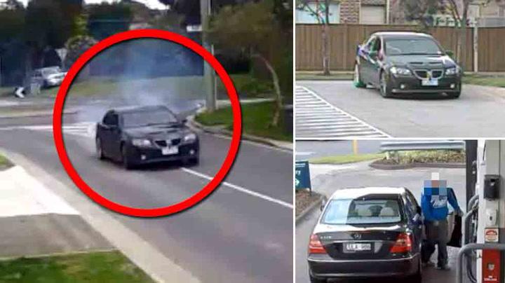 Biltyv skulle tøffe seg – tatt på fersken av tre kameraer
