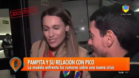 Pampita negó una crisis con Pico y reveló porqué no hay más fotos en Instagram