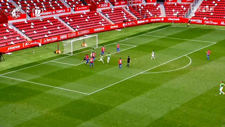 El impresionante gol tras jugada individual de Rodri ante el Sporting
