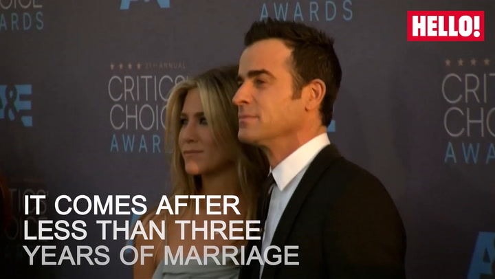 Jennifer Aniston splits from Justin Theroux