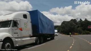 Ingresan a Tegucigalpa 23 contenedores restantes de Hospitales Móviles
