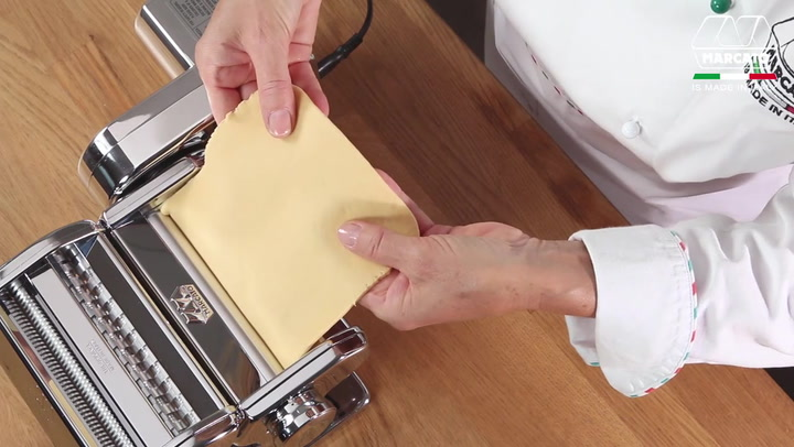 Preview image of Marcato Atlas Pasta Machine with 220V Drive Motor video