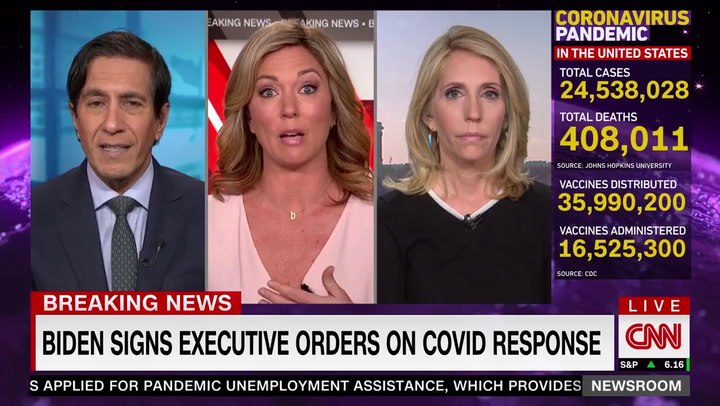 CNN's Bash on Biden's Covid Presser: 'Anybody Who Has Any Connection to Reality' Saw 'the Adults Are Back'