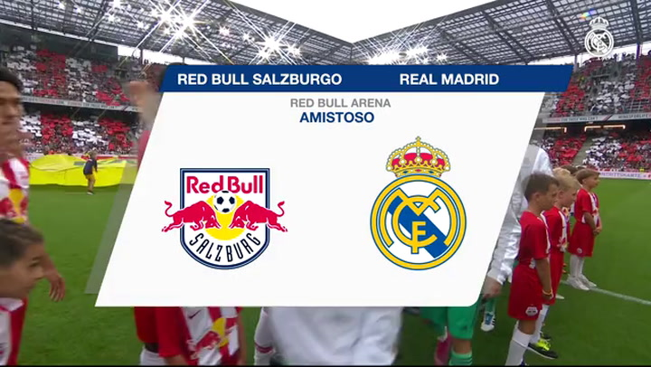 Resumen del Red Bull Salzburgo-Real Madrid