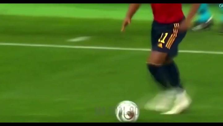 La brillante actuación de Adama Traoré ante Ucrania