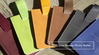 RFID Data Blocker Phone Wallet
