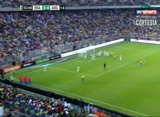 Brasil derrotó 1 - 0 a Argentina en amistoso