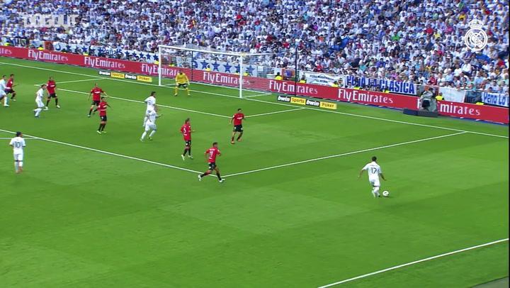 Incrível cabeçada de C. Ronaldo contra o Mallorca