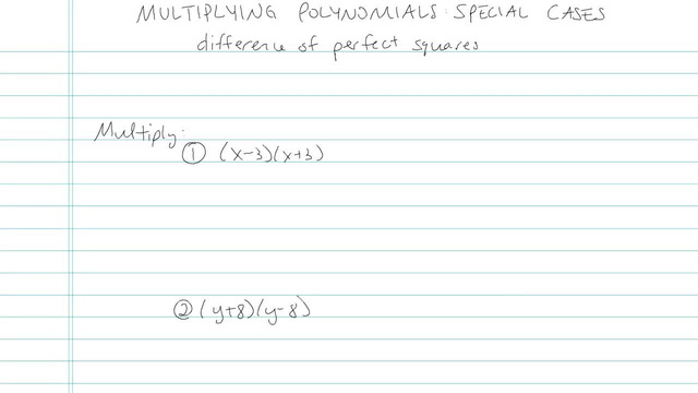 Multiplying Polynomials: Special Cases - Problem 4