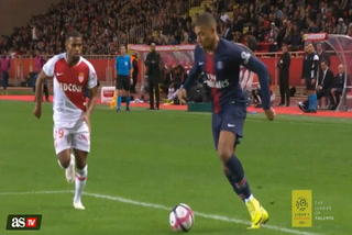 Las últimas maravillas de Mbappé en el Mónaco vs PSG