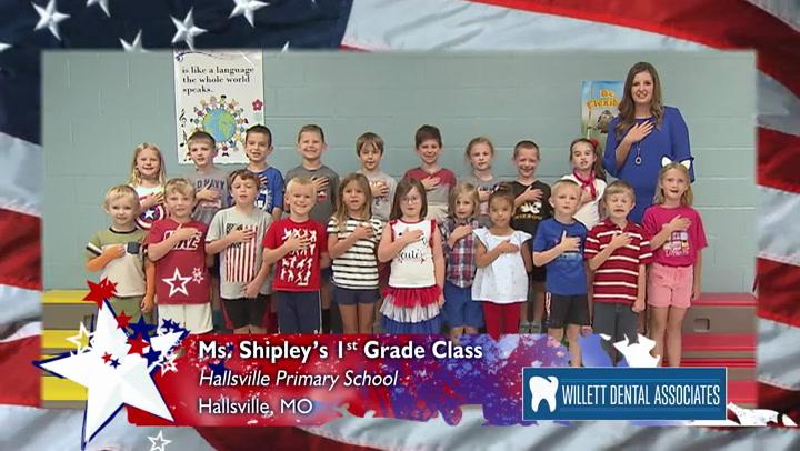 Hallsville Primary - Miss Shipley - 1st Grade