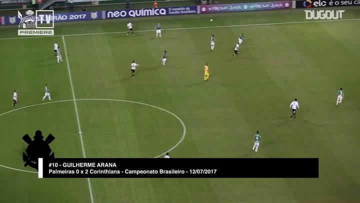 Guilherme Arana's strike secures derby victory over Palmeiras