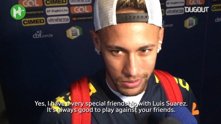 Neymar: It's Always Good To Beat Your Friends
