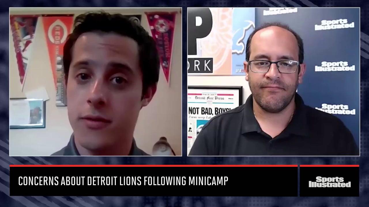 Concerns about Detroit Lions Following 2021 Minicamp