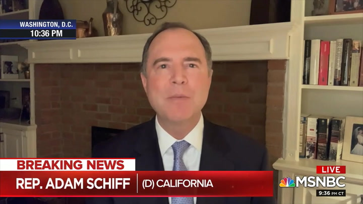 Schiff: 'Difficult to Rely on' Ratcliffe's Statements that Iran Is Trying to Hurt Trump