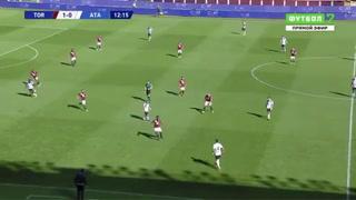Uno, dos, tres y golazo: Papu Gómez clava una joya con Atalanta ante Torino en la Serie A