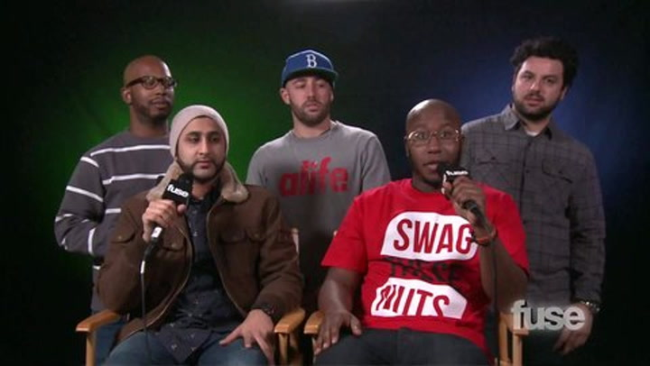Bad Rabbits Interview - fuse.tv