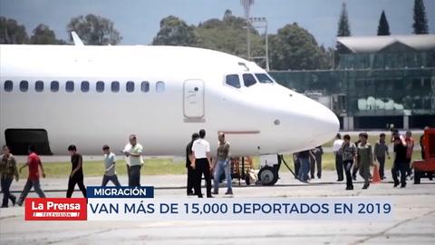 Van más de 15,000 deportados en 2019