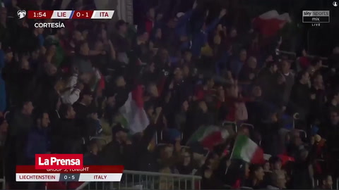 Liechtenstein 0-5 Italia (Eliminatoria Euro 2020)