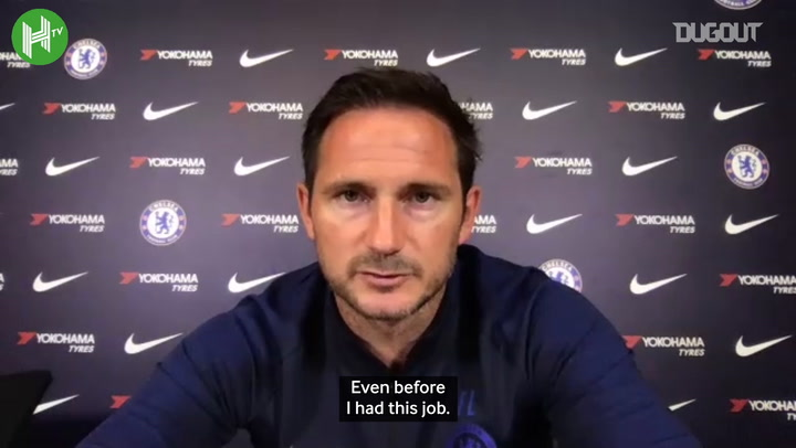 Frank Lampard excited at Timo Werner signing