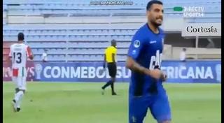 Bryan Moya se despacha doblete en la Copa Sudamericana y le da triunfo al Zulia FC sobre el Palestino