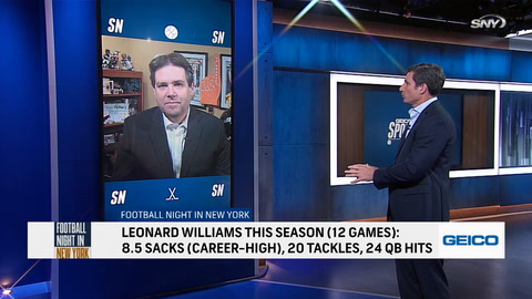 Breaking down Leonard Williams' impact in the Giants' win over the Seahawks