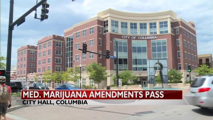 Columbia city council approves medical marijuana amendments
