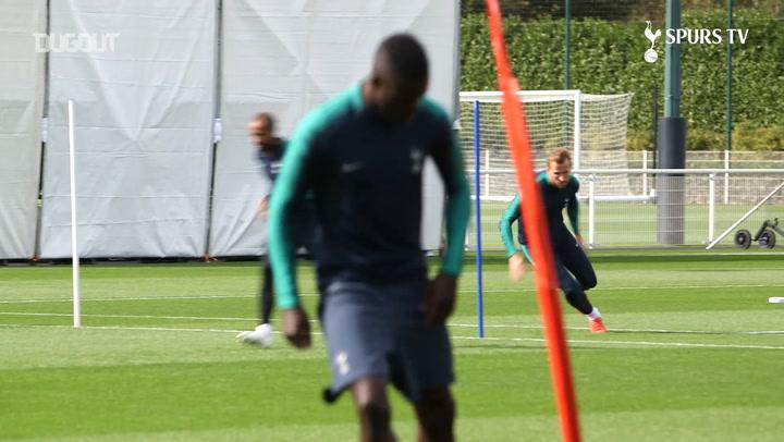 Harry Kane Prepares For Barcelona