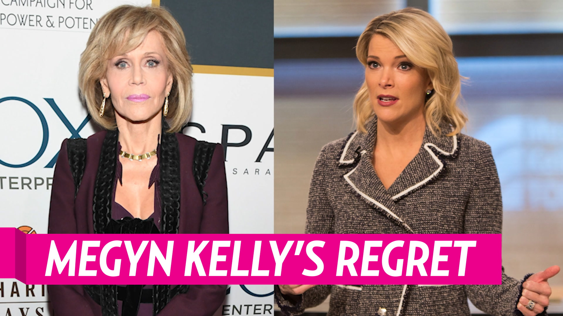 Megyn Kelly Regrets Inviting Jane Fonda For Today Interview