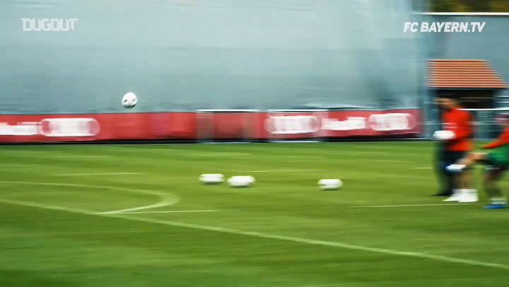 FC Bayern's Training Goals Of The Week #10