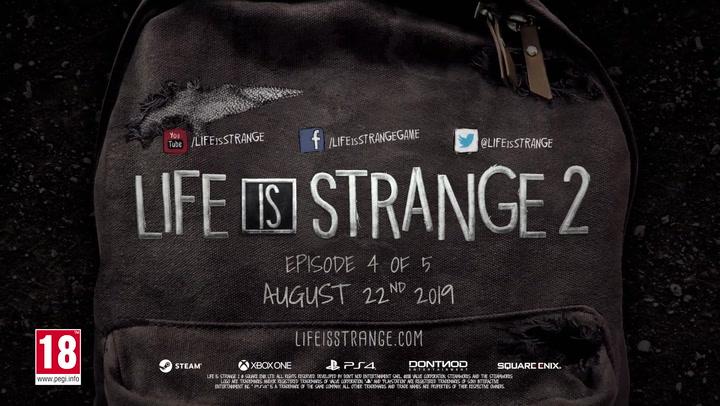 Life Is Strange 2 - Episodio 4 tráiler de lanzamiento