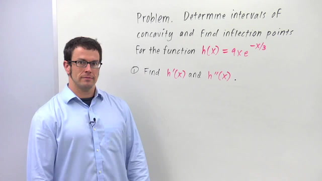 Concavity and Inflection Points - Problem 2