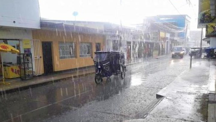 Piura: intensas lluvias dejan 180 viviendas afectadas y 5 destruidas