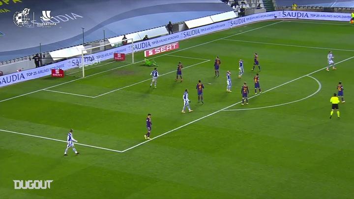تصديات رائعة لمارك أندريه تير شتيجن أمام ريال سوسيداد