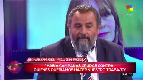 Hubo un cepo en la Justicia y hoy no existe, aseguró el fiscal Campagnoli