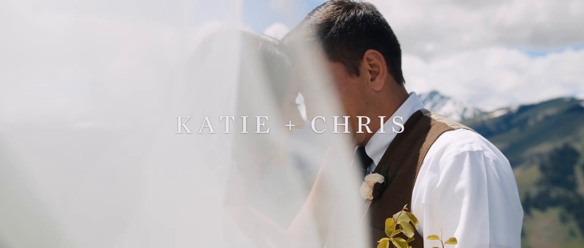 Katie + Chris | McCall, Idaho | a mountaintop