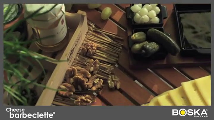 Preview image of Boska Barbeclette Braai Raclette Grill with Spatul video