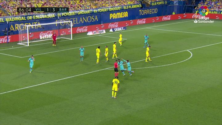 Gol de Ansu Fati (1-4) en el Villarreal 1-4 Barcelona