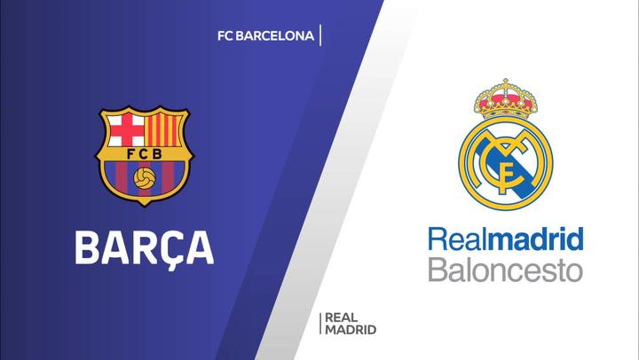 Euroliga: FC Barcelona - Real Madrid