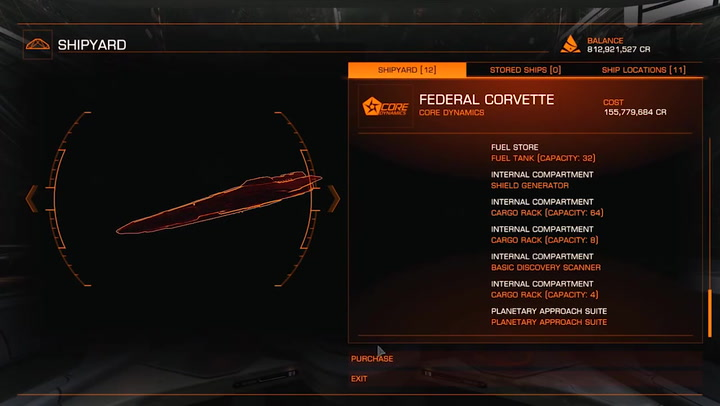Elite Dangerous Lore: Federal Corvette