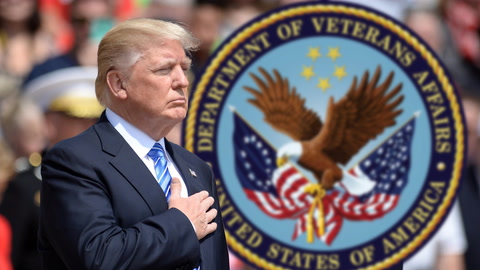 Trump Donates His  Salary to VA